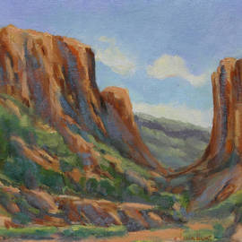 Maria Hunt - Early Morning in Diablo Canyon