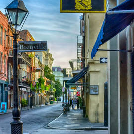 Kathleen K Parker - Early Morning in French Quarter NOLA