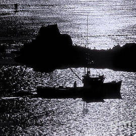 Marty Saccone - Early Morning Silhouette at Sail Rock Narrows