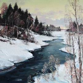 Mark Kremer - Early Spring. The river