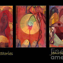 Rosy Hall - Earth Stories triptych