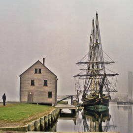 Tom Gari Gallery-Three-Photography - East Indiaman in The Fog