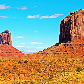 Ruth Hager - East Mitten and Merrick Butte in Monument Valley Navajo Tribal Park-Arizona