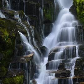 Matt Plyler - Eastatoe Falls Detail #5 - North Carolina waterfalls series