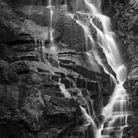 Matt Plyler - Eastatoe Falls in Black and White - North Carolina Waterfalls Print Series