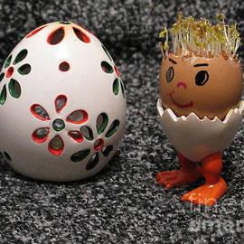 Ausra Paulauskaite - Easter Eggmen or Egg With Hair Series. 01