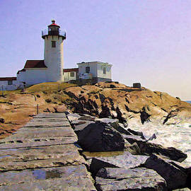 David Russell - Eastern Point Lighthouse - Gloucester MA