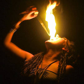 Venetia Featherstone-Witty - Eating Fire