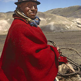 Craig Lovell - Ecuadorian Sheep Herder - Altiplano