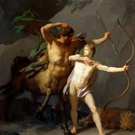 Jean Baptiste Regnault - Education of Achilles