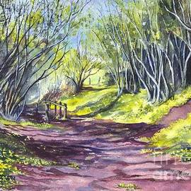 Carol Wisniewski - Taking A Walk Down A Spring Lane