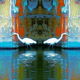 Sue Jacobi - Egrets Nest in a Palace