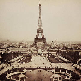 Digital Reproductions - Eiffel Tower and Champ de Mars 1889