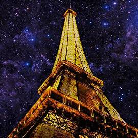 David Dehner - Eiffel Tower Photographic Art