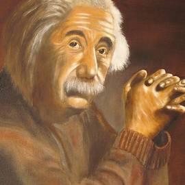 Anthony Morretta - Einstein - Original  Oil Painting
