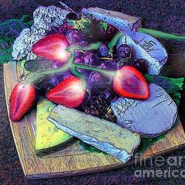 ARTography by Pamela  Smale Williams - Electric Strawberries