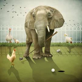 Ethiriel  Photography - Elephant Golf
