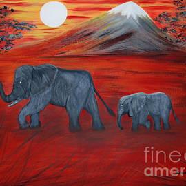 Oksana Semenchenko - Elephants. Inspirations Collection.