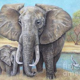 Wendy Koehrsen - Elephants Mothers Day