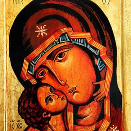 Ryszard Sleczka - Eleusa icon