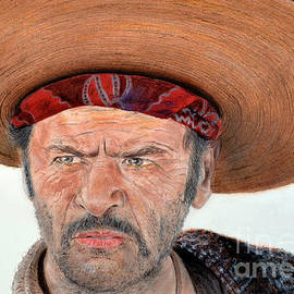 Jim Fitzpatrick - Eli Wallach as Tuco in The Good the Bad and the Ugly