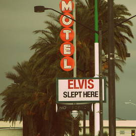 Kay Novy - Elvis Slept Here Sign
