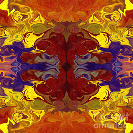 Omaste Witkowski - Embracing Transition Abstract Healing Artwork
