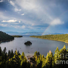 Mitch Shindelbower - Emerald Bay Rainbow