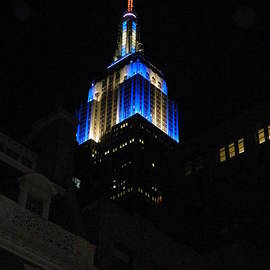 Emmy Marie Vickers - Empire State Building At Night