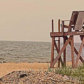 Rita Brown - Empty Lifeguard Chair