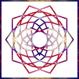 Omaste Witkowski - Enchanted Awareness Abstract Chakra Artwork by Omaste Witkowski