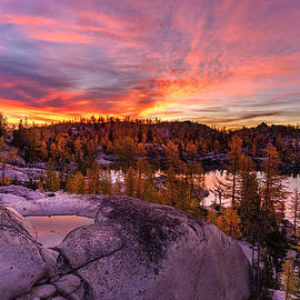 Mike Reid - Enchantments Golden Fall Colors