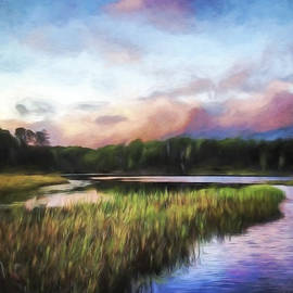 Jordan Blackstone - End of the Day - Landscape Art