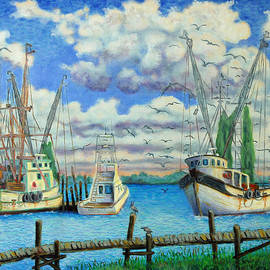 Dwain Ray - Entering Shem Creek
