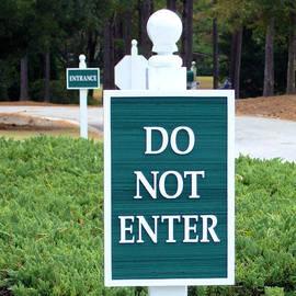 Bob Sample - Do Not Enter