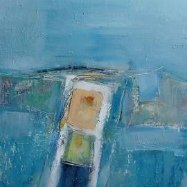 Jean Cormier - Entrance into an Enclosed Blue Space