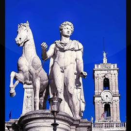Stefano Senise - Equestrian statue at Capitoline Hill