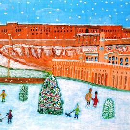 Magdalena Frohnsdorff - Erbil Citadel Christmas