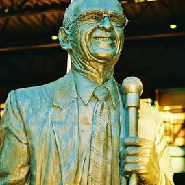 Daniel Thompson - Ernie Harwell Statue at the Copa