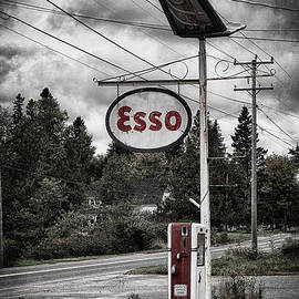 Esso Sign and Pump