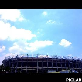 Ricardo Anguiano - Estadio Azteca In Mexico City
