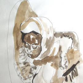 Esther Newman-Cohen - Ethiopian Child Pieta