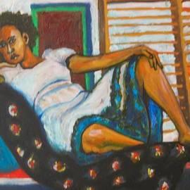 Esther Newman-Cohen - Ethiopian Girl Reclining