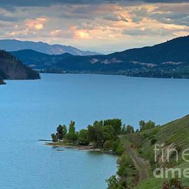 Michael Russell - Evening at Kalamalka Lake