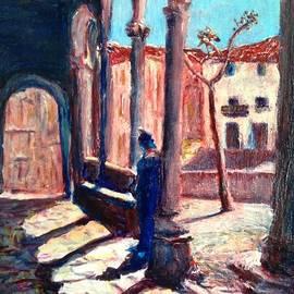 Angel de Paz - Evening at the atrium