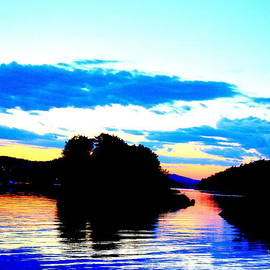 Hilde Widerberg - evening light