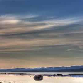 Randy Hall - Evening Light On The Salish Sea