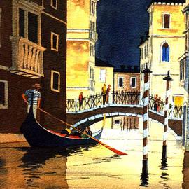 Bill Holkham - Evening Lights - Venice