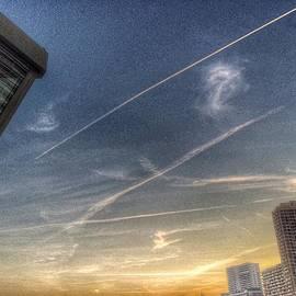 Julian Darcy - Evening sky Monte Carlo