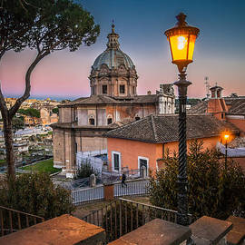 W Chris Fooshee - Evening Stroll in Rome